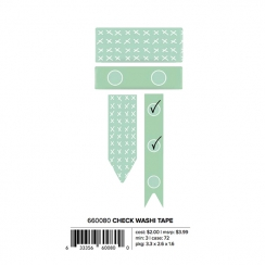 Set de masking tapes LISTS AND CHECKS MINT