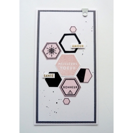 PROMO de -99.99% sur Tampon bois MODERN GREETINGS Florilèges Design