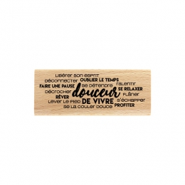 Tampon bois NUAGE DE DOUCEUR