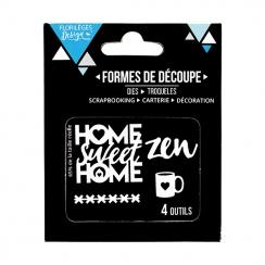 Outils de découpe HOME SWEET HOME