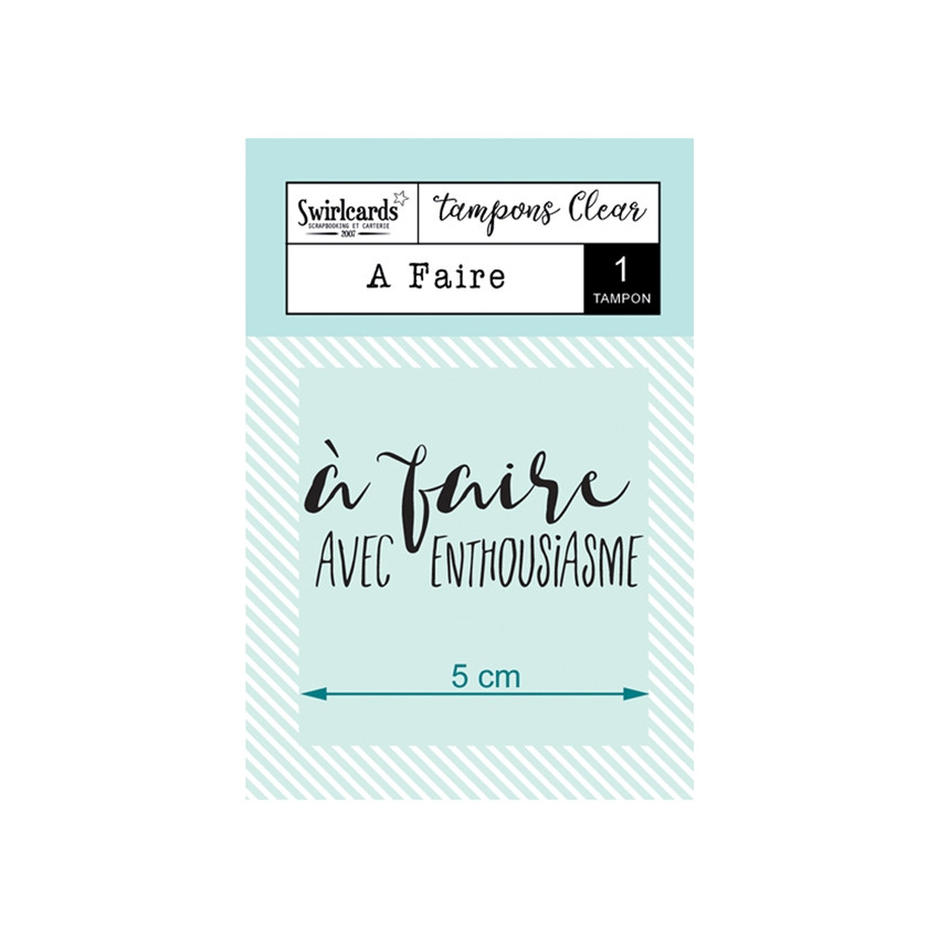 Tampon Clear A faire