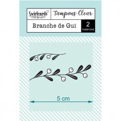 Tampons Clear Branche de Gui