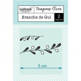 Tampons Clear Branche de Gui