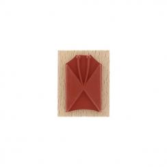 PROMO de -80% sur Tampon bois PAPILLON LIGNÉ Florilèges Design