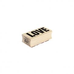 PROMO de -99.99% sur Tampon bois LOVE BRUT Florilèges Design
