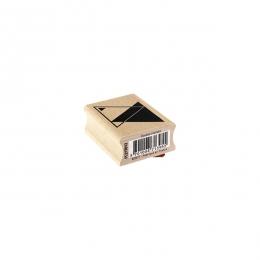 Tampon bois DOUBLE TRIANGLE par Florilèges Design. Scrapbooking et loisirs créatifs. Livraison rapide et cadeau dans chaque c...