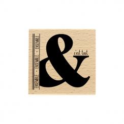 PROMO de  sur Tampon bois ET C'EST TOUT Florilèges Design
