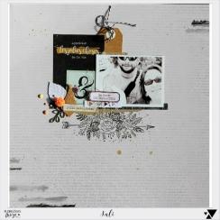 Papier imprimé GYPSY FOREST 1 par Florilèges Design. Scrapbooking et loisirs créatifs. Livraison rapide et cadeau dans chaque...