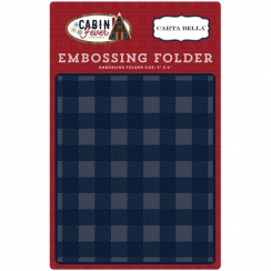 Plaque d'embossage Cabin Fever PLAID