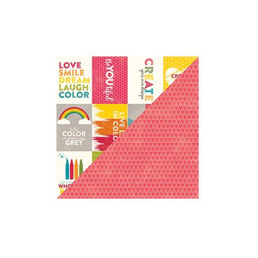 Papier imprimé Shades of Color BITE SIZE BITS