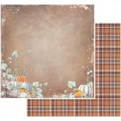Papier imprimé Rusty Autumn PUMPKIN PATCH