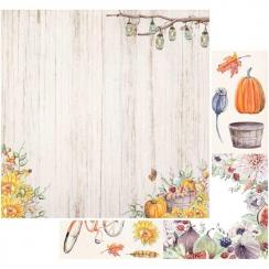 Papier imprimé Rusty Autumn SUNFLOWER DELIGHT