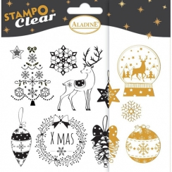 Tampons clear Stampo NOEL CLASSIQUE