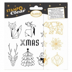 Tampons clear Stampo ORIGAMI
