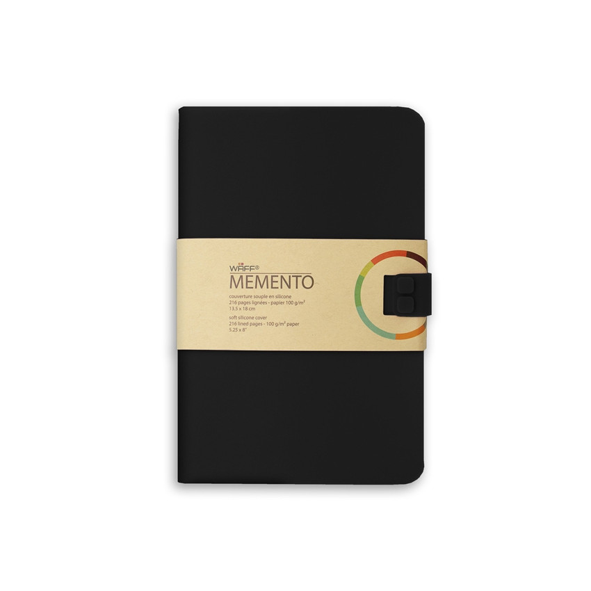 Journal A5 MEMENTO BLACK