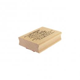 Tampon bois TELLEMENT DE SAISON