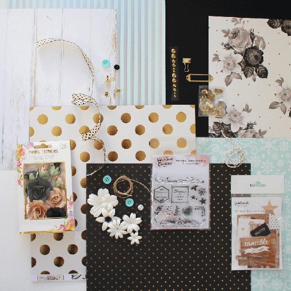 Kit Inspiration n°2 Un hiver en famille Floliescrap