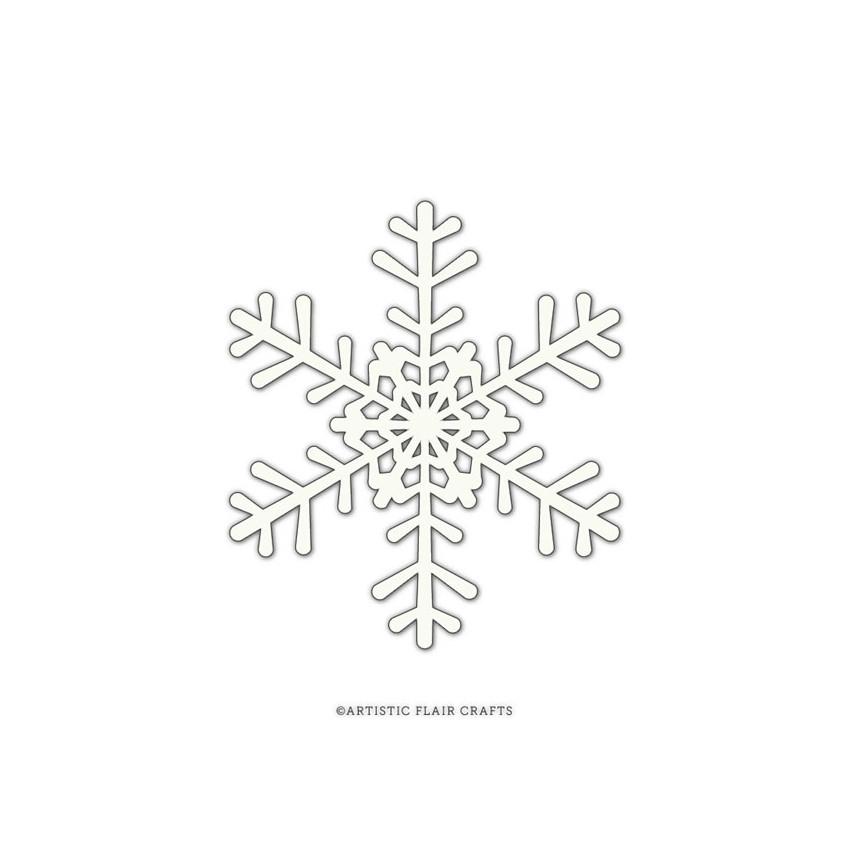 Pochoir SNOWFLAKE 2