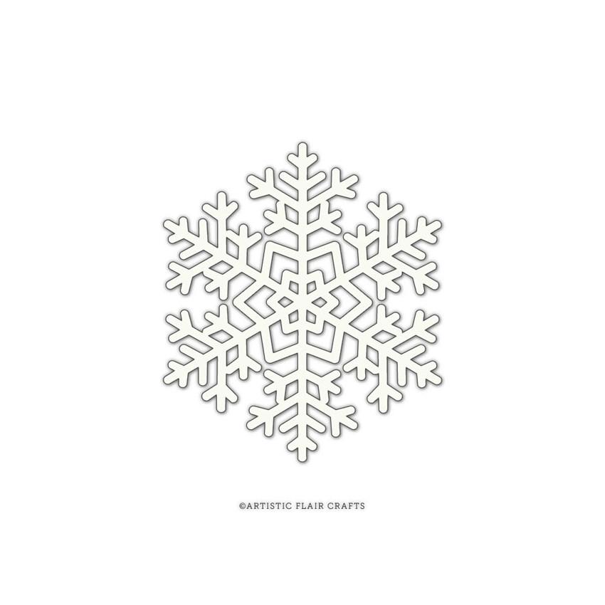 Pochoir SNOWFLAKE 1