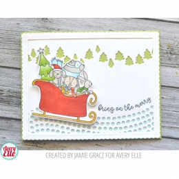 Tampons clear SLEDDING CRITTERS
