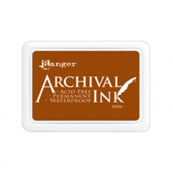 Encre Archival SEPIA par Ranger. Scrapbooking et loisirs créatifs. Livraison rapide et cadeau dans chaque commande.