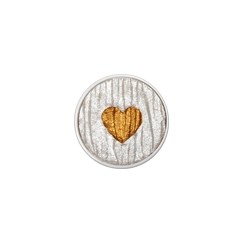 Godet d'aquarelle HEART OF GOLD