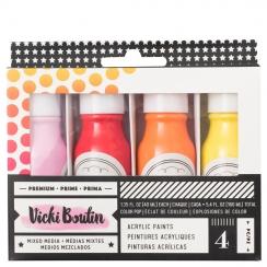 Peinture acrylique Vicki Boutin SET 1 par American Crafts. Scrapbooking et loisirs créatifs. Livraison rapide et cadeau dans ...