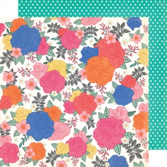 PROMO de -30% sur Papier imprimé All The Good Things BLOSSOM TO AWESOME American Crafts