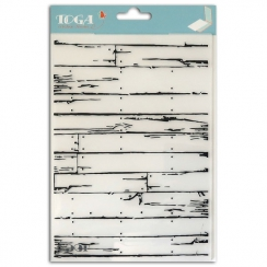 Parfait pour créer : Plaques d'embossage A5 BOIS par Toga. Livraison rapide et cadeau dans chaque commande.