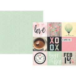 PROMO de -30% sur Papier imprimé Romance 4X4 ELEMENTS Simple Stories