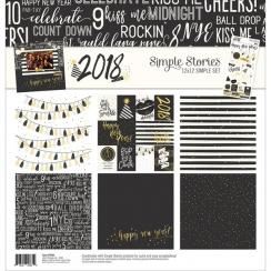 Pack papiers imprimés 30,5 x 30,5 cm collection 2018