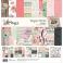 Pack papiers imprimés 30,5 x 30,5 cm collection ROMANCE