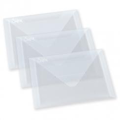 Pochettes de rangement en plastique transparent