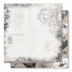 Papier imprimé Broderies Oxydées 01