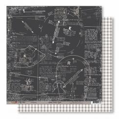 Papier imprimé Broderies Oxydées 02