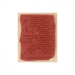 Tampon bois espagnol AL NATURAL