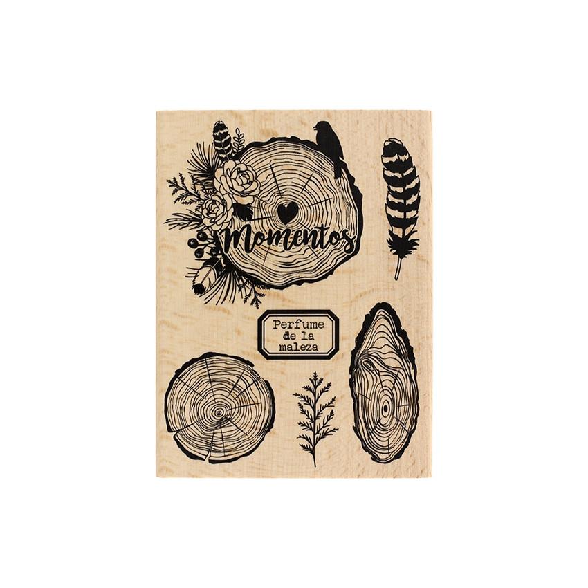 Tampon bois espagnol PERFUME DE LOS BOSQUES