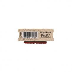 Tampon bois VALISE DE SOUVENIRS par Florilèges Design. Scrapbooking et loisirs créatifs. Livraison rapide et cadeau dans chaq...