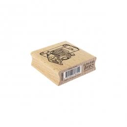Tampon bois PHOTOS D'ANTAN par Florilèges Design. Scrapbooking et loisirs créatifs. Livraison rapide et cadeau dans chaque co...