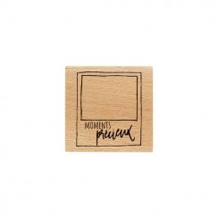 Tampon bois POLA PRÉCIEUX par Florilèges Design. Scrapbooking et loisirs créatifs. Livraison rapide et cadeau dans chaque com...