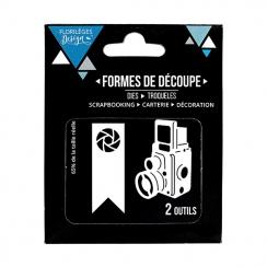 Outils de découpe PHOTOS D'ANTAN par Florilèges Design. Scrapbooking et loisirs créatifs. Livraison rapide et cadeau dans cha...