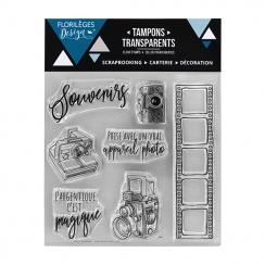 Tampons clear ARGENTIQUE MAGIQUE par Florilèges Design. Scrapbooking et loisirs créatifs. Livraison rapide et cadeau dans cha...