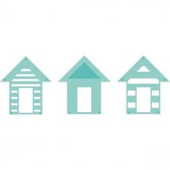 Outils de découpe BEACH HOUSES