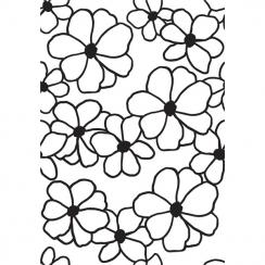Plaque d'embossage FLOWERS