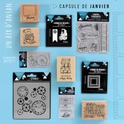 Pack complet capsule de Janvier 2018