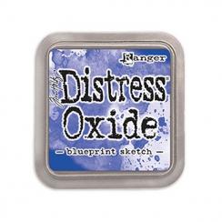 Encre Distress OXIDE BLUEPRINT SKETCH par Ranger. Scrapbooking et loisirs créatifs. Livraison rapide et cadeau dans chaque co...