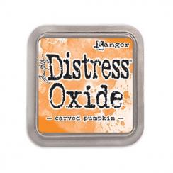Encre Distress OXIDE CARVED PUMPKIN par Ranger. Scrapbooking et loisirs créatifs. Livraison rapide et cadeau dans chaque comm...