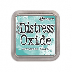 Encre Distress OXIDE EVERGREEN BOUGH par Ranger. Scrapbooking et loisirs créatifs. Livraison rapide et cadeau dans chaque com...