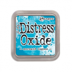 Encre Distress OXIDE MERMAID LAGOON par Ranger. Scrapbooking et loisirs créatifs. Livraison rapide et cadeau dans chaque comm...