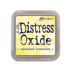 Encre Distress Oxide Squeezed lemonade par Ranger. Scrapbooking et loisirs créatifs. Livraison rapide et cadeau dans chaque c...